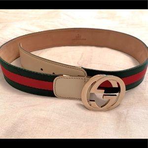 100% Authentic Gucci Belt size 85-34 Unisex